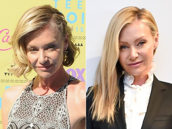 Portia De Rossi Gets Long Extensions!