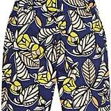 Warehouse 70s leaf print shorts (£28)