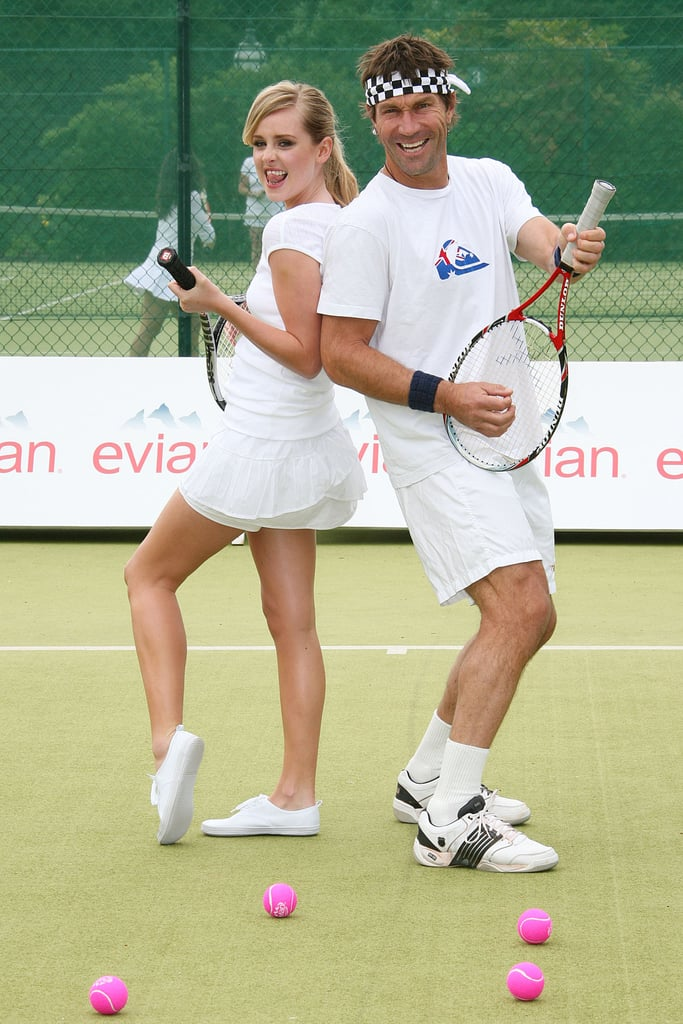 Pictures of Diana Vickers Promoting Wimbledon