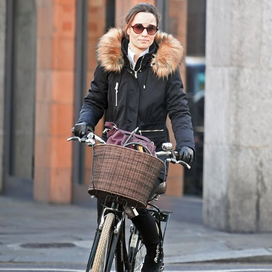 Pippa Middleton Black Buckle Boots