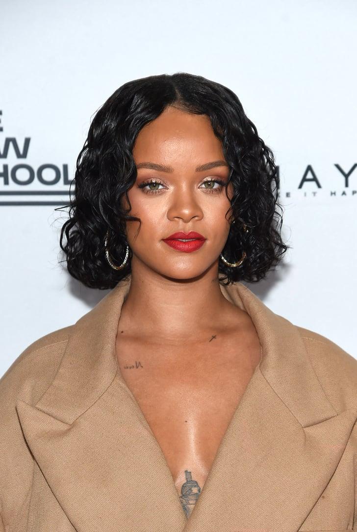 Rihanna S Best Body Highlighter Looks Fenty Body Lava