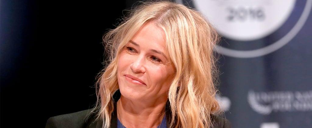 Chelsea Handler Talks About Brad Pitt and Angelina Jolie