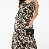 Plus-Size Leopard Maxi Dress