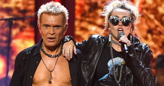 Miley Cyrus Sings 'Rebel Yell' With Billy Idol at iHeartRadio Music Festival 2016