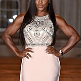 Serena Williams at the Wimbledon Champions Dinner in 2015