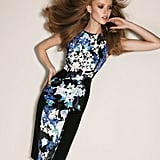 Form-fitting silhouettes and loud floral prints dominate at Sportmax. Source: Fashion Gone Rogue