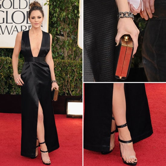 Katherine McPhee in Theyskens' Theory at 2013 Golden Globes