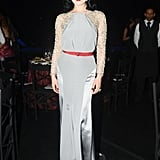 Dita Von Teese wearing Jenny Packham at the amfAR Inspiration Gala in Brazil. Photo:  Joe Schildhorn BFAnyc.com