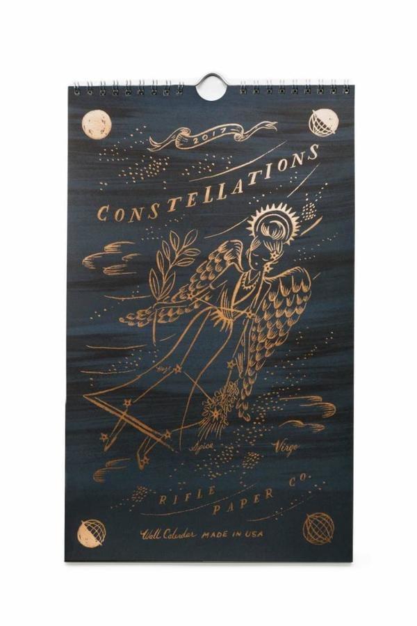 Rifle Paper Co. 2017 Constellation Calendar ($28)
