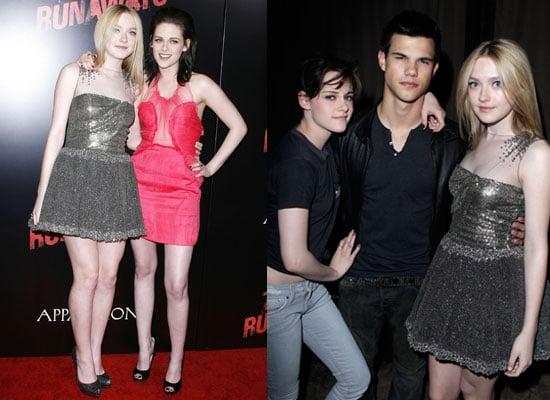Photos of Kristen Stewart, Dakota Fanning and Taylor Lautner at The Runaways LA Premiere