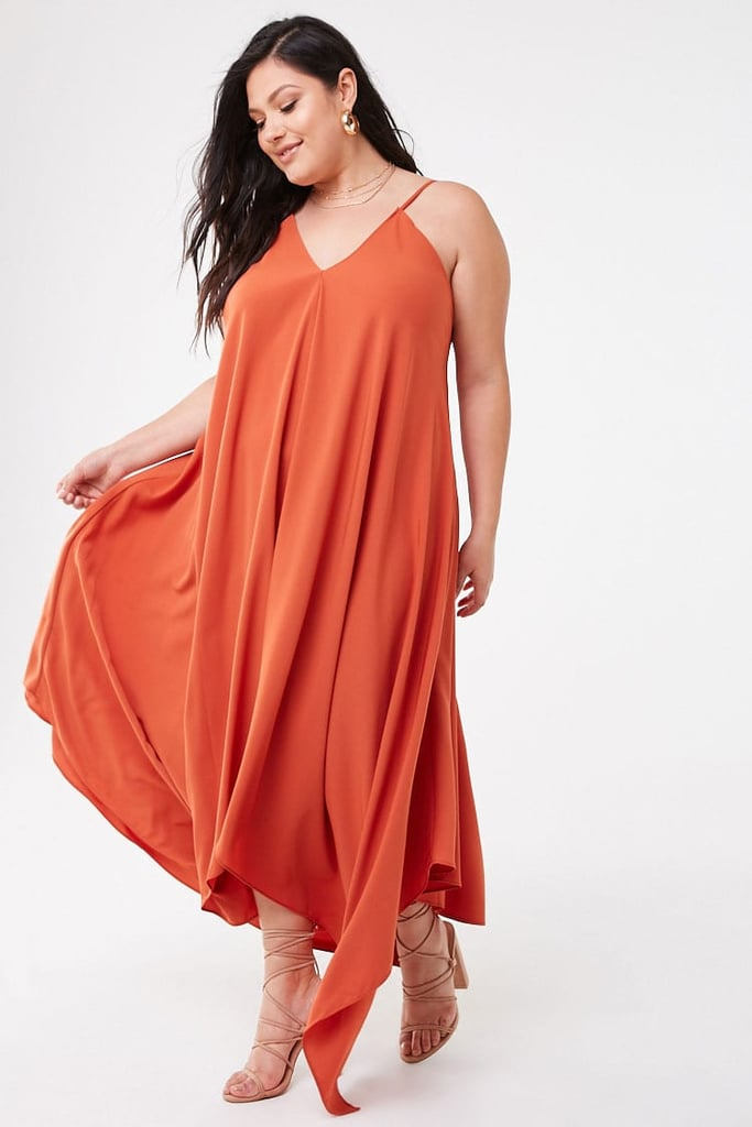 Plus-Size V-Neck Cami Dress | Best Summer Dresses From ...