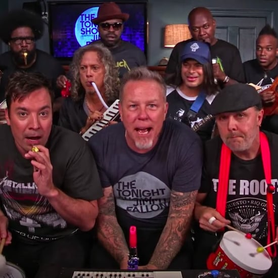 "Metallica Sing ""Enter Sandman"" With Jimmy Fallon"