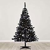 Dunelm 6 Foot Pre Lit Swiss Pine Black Christmas Tree (£40)