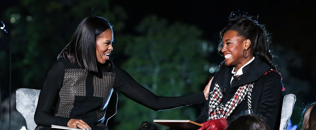 Michelle Obama's Advice to Simone Manuel