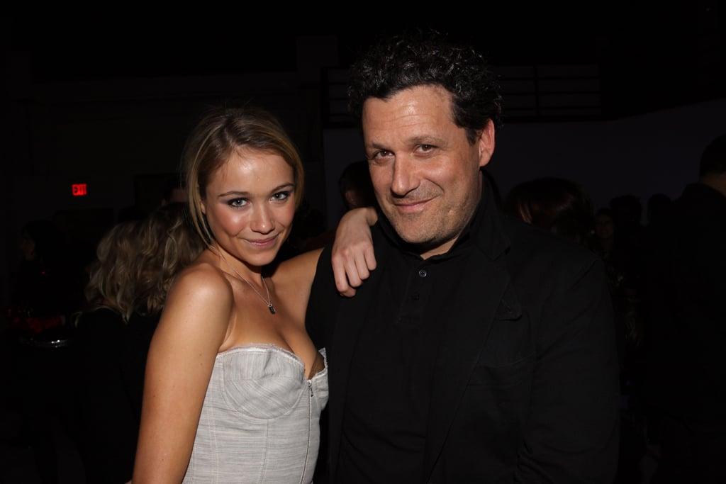 Katrina Bowden and Isaac Mizrahi