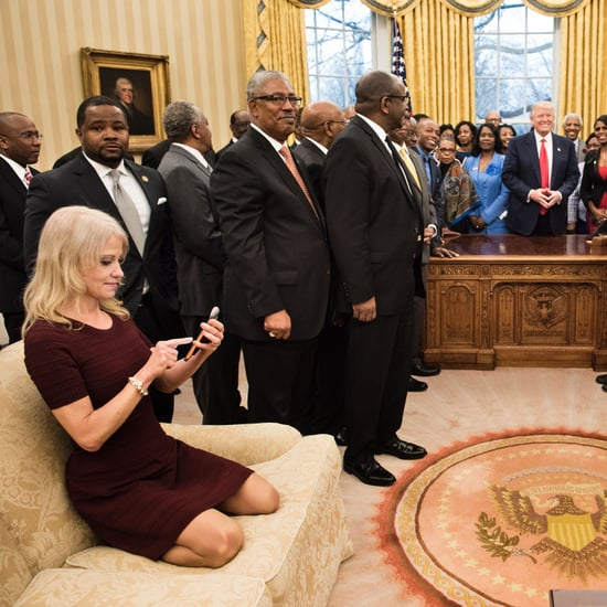 Memes About Kellyanne Conway Sitting in the Oval Office