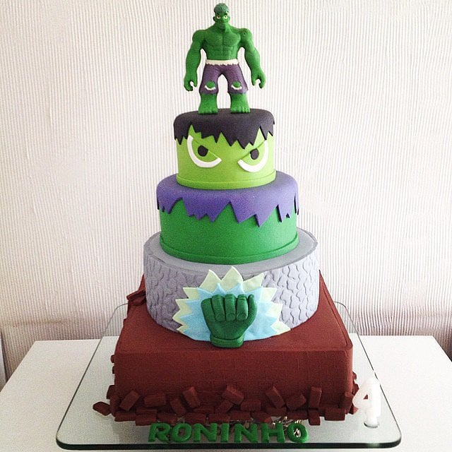 The Hulk | Unique Birthday Cakes For Baby and Toddler ...
