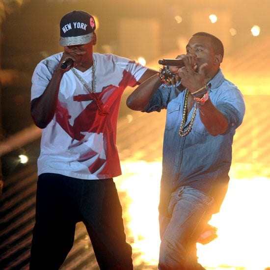 Jay-Z and Kanye West at the 2011 MTV VMAs Video