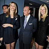 Prince Philip and Hollywood royals Cameron Diaz and Gwyneth Paltrow attended a drink reception for an art club in October 2011.