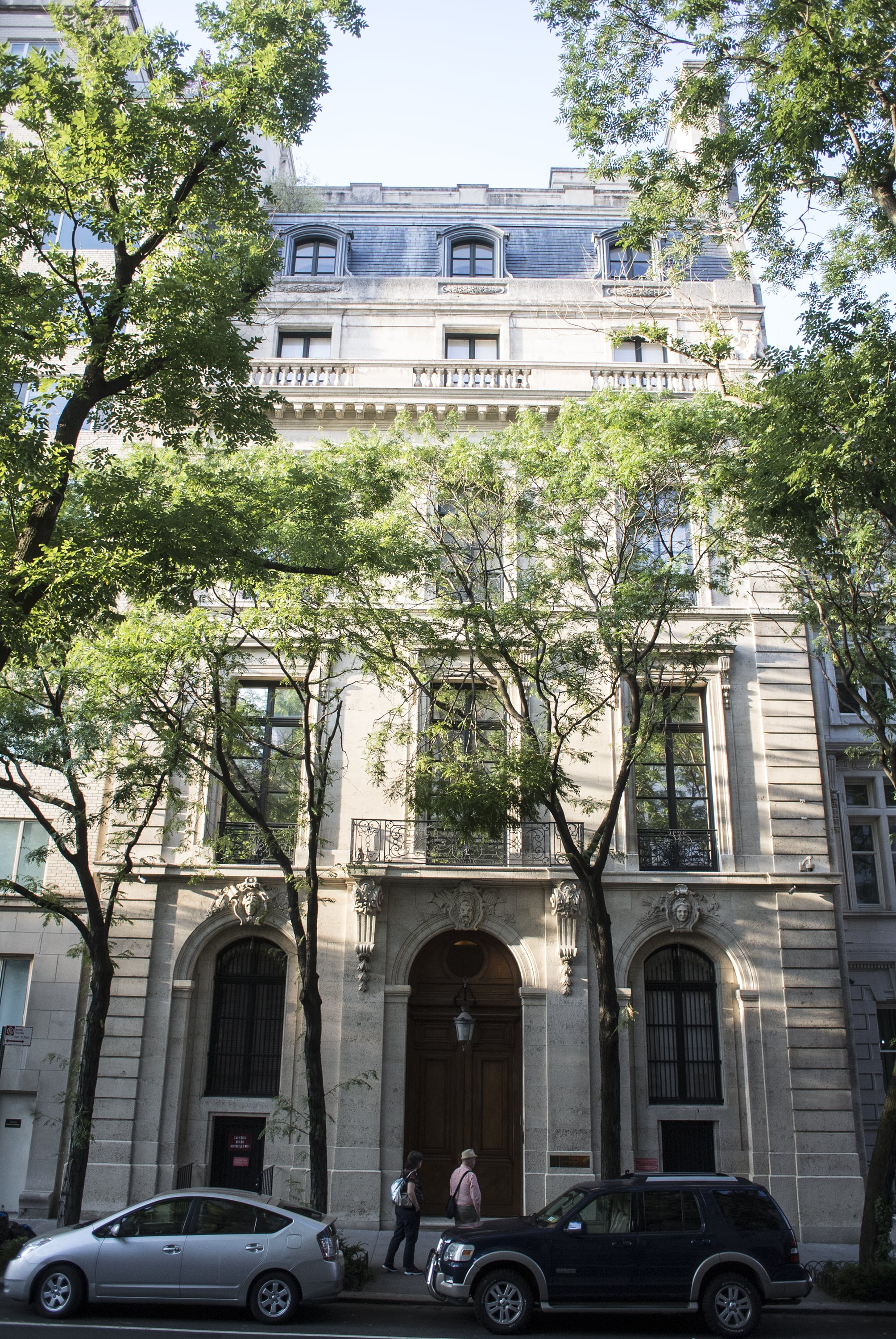 NEW YORK, NY - July 9]:  MANDATORY CREDIT Bill Tompkins/Getty Images       The townhouse where the financier Jeffrey Epstein is accused of engageing in sex acts with underage girls is one of the largest private homes in Manhattan. The seven-story residence is at 9 East 71st Street, between Fifth and Madison Avenues.  Photographed       on July 9, 2019  in New York City. (Photo by Bill Tompkins/Getty Images)