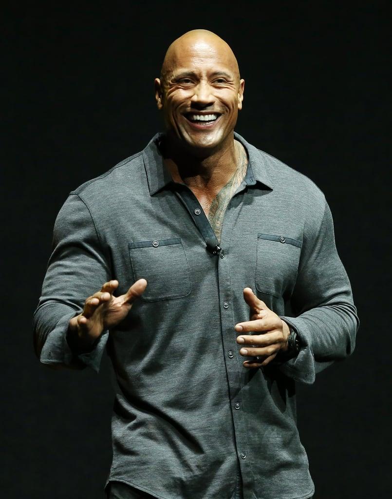 Hottest Pictures Of Dwayne The Rock Johnson Popsugar Celebrity
