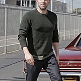 Ben Affleck With Gray Hair in LA March 2016 Pictures