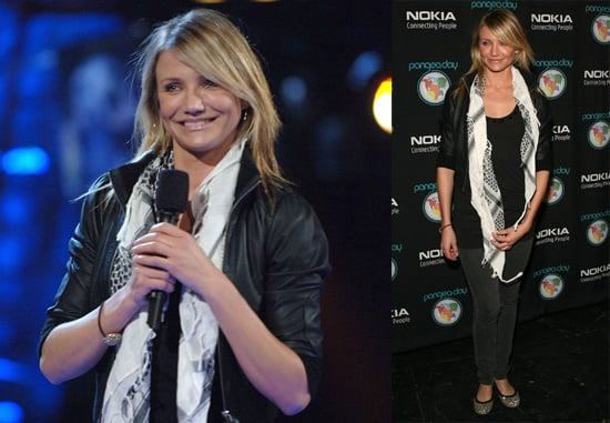 Cameron Diaz Gets Pretty for Pangea Day