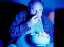 Diet Tip: Ease Up on the Crime TV