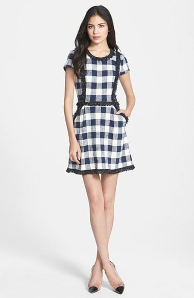 how to wear gingham shirt