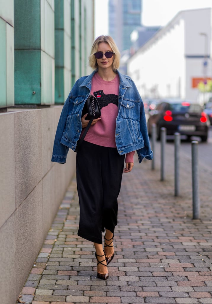 How to Dress Up a Jean Jacket