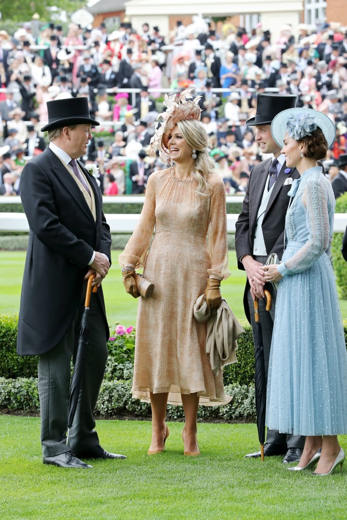 Kate Middleton Wearing Elie Saab at Royal Ascot 2019