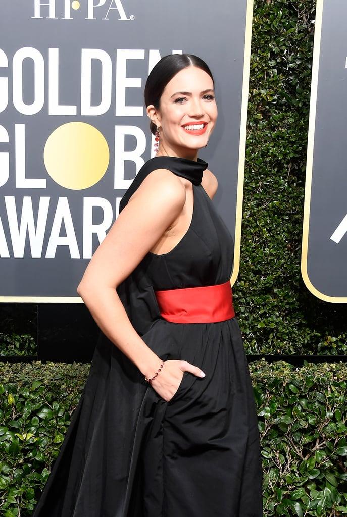 Mandy Moore's Golden Globes Dress 2018
