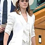 Emma Watson's Ralph Lauren Wimbledon Suit