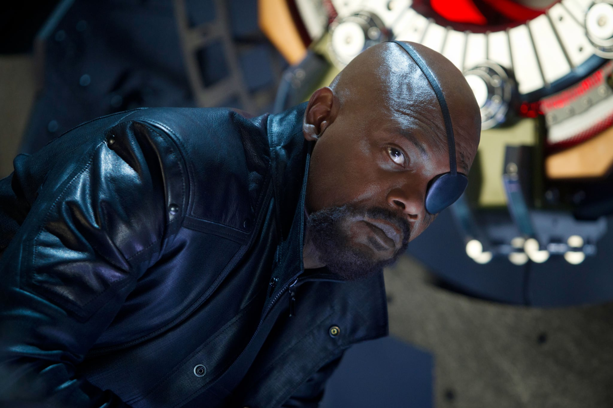 THE AVENGERS, Samuel L. Jackson (as Nick Fury), 2012, ph: Zade Rosenthal/Walt Disney Studios Motion Pictures/courtesy Everett Collection