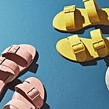 Farylrobin Double-Buckled Slide Sandals