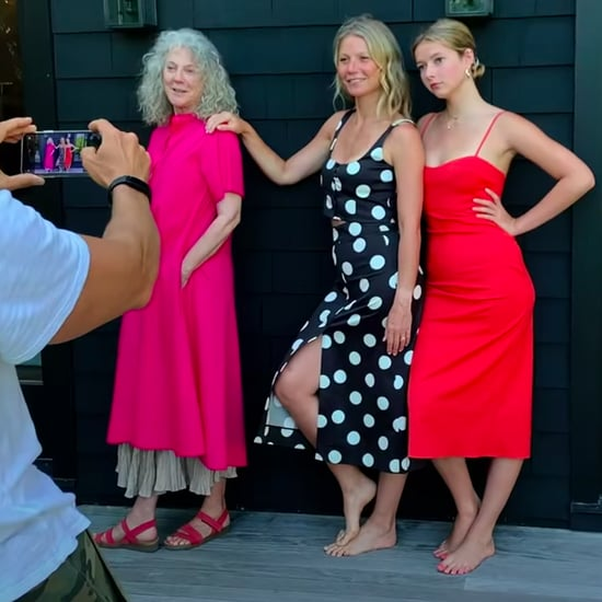 Apple Martin Interviews Gwyneth Paltrow and Blythe Danner