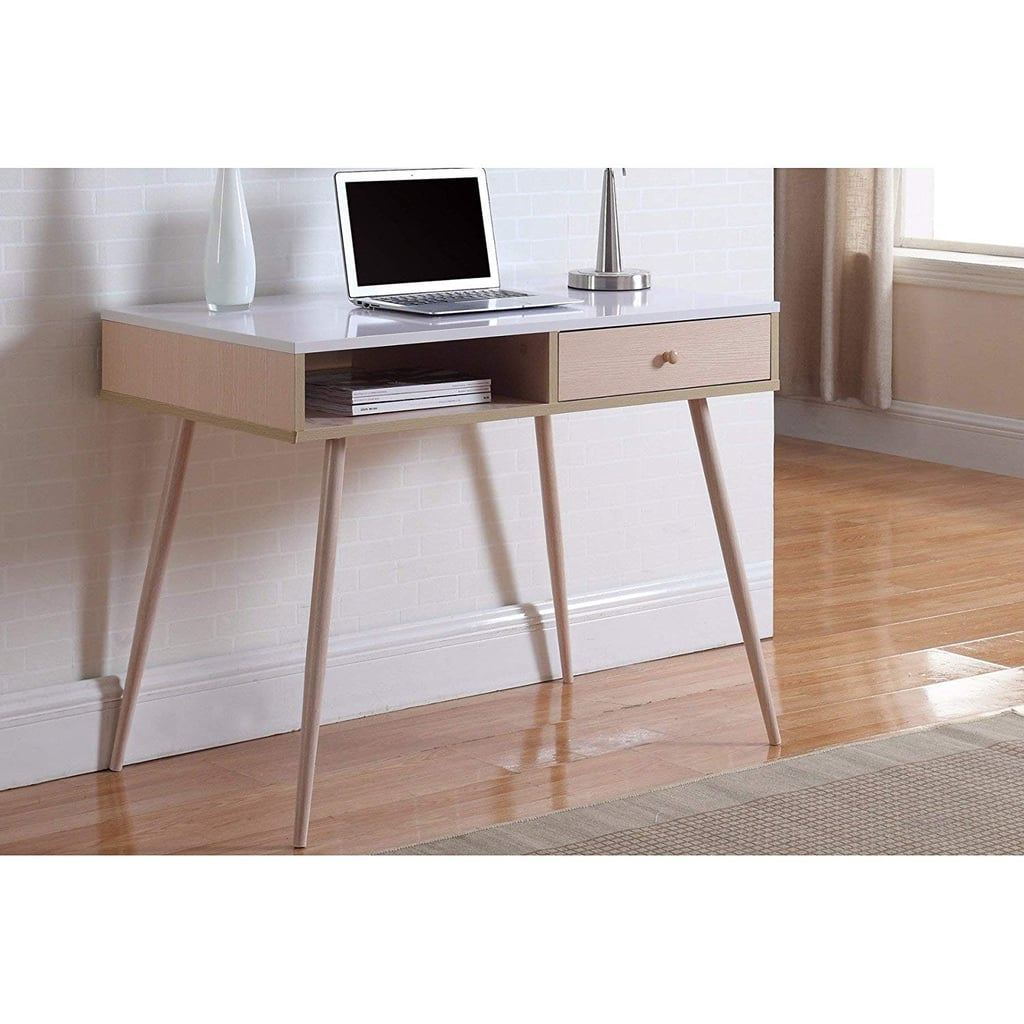 Madison Home Mid-Century Modern Desk | Small Apartment Furniture ...