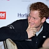 Prince Harry showed off his clean-shaven face in his first postbeard public appearance in London.