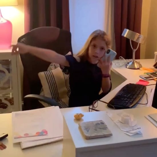Kid Impersonated How Her Mom Is Working From Home | Video