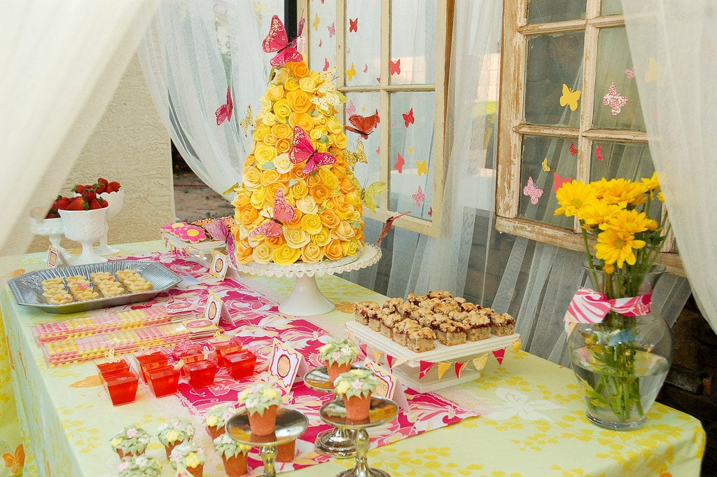 Spring Birthday Party Ideas POPSUGAR Moms