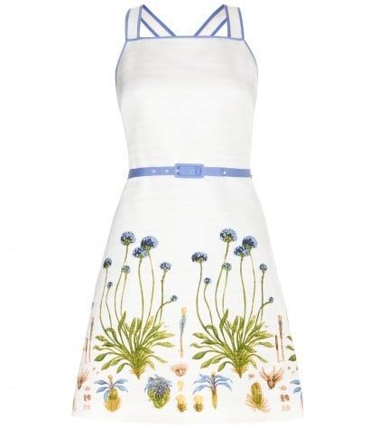Tory Burch Emilia printed dress with belt (£390)