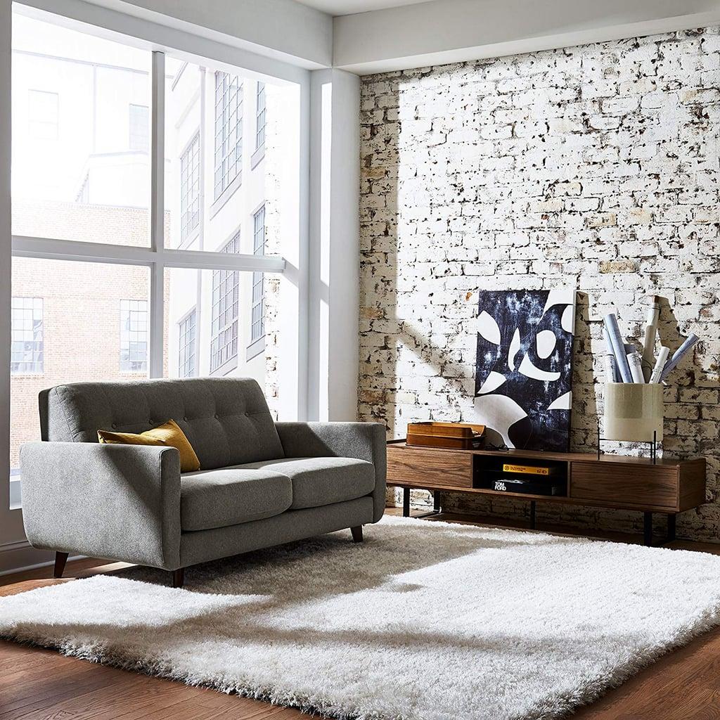 Rivet Sloane Mid-Century Tufted Modern Sofa