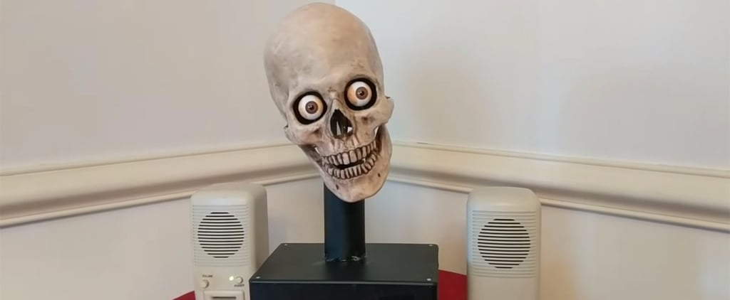 This Video of Amazon's Alexa Talking Out of a Skull Is the Stuff of Nightmares