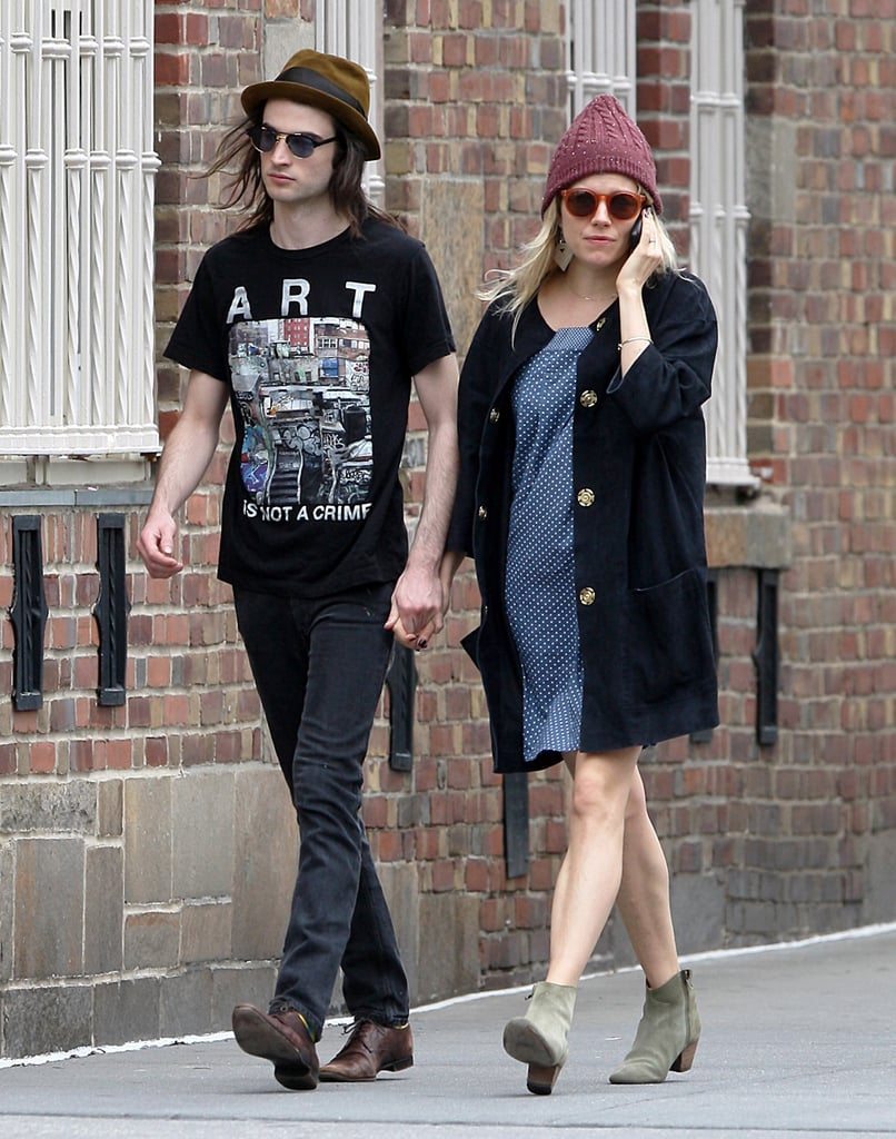 Sienna and Tom Take a Couple's Stroll and Possibly Team Up For Burberry