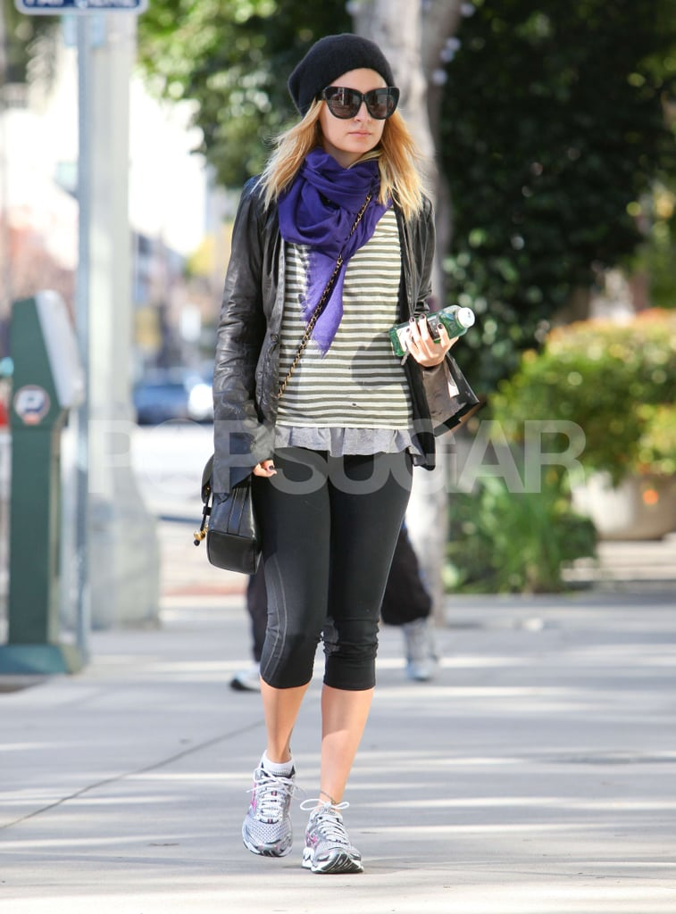 Nicole Richie Keeps Her Resolve to Work It Out