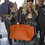 Jessica Simpson Jets Off With Family as Fashion Star's Finale Approaches