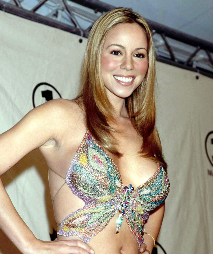 Mariah Carey's Favorite '90s Fashion Trend Has Fluttered Back Into Our Wardrobes