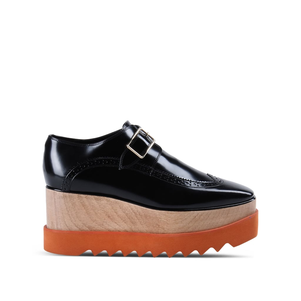 Stella McCartney Black Brogue Elyse Shoes ($1,235)