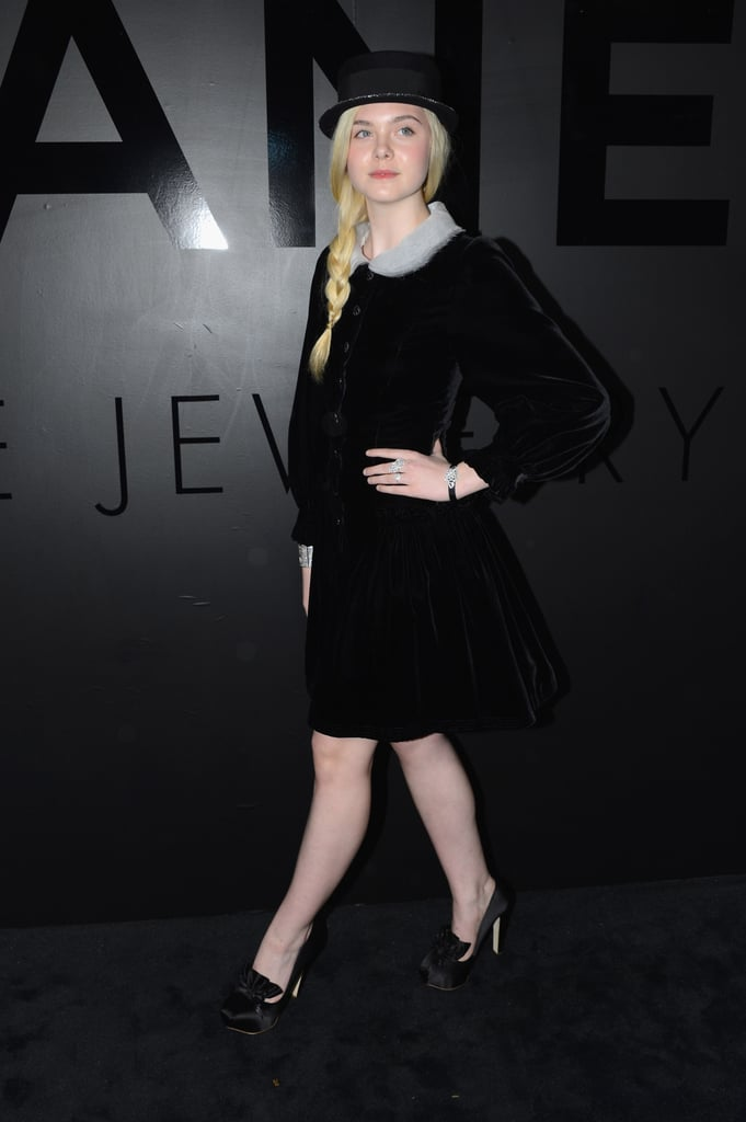 Elle Fanning stepped out to celebrate Chanel in NYC.
