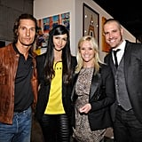 Reese Witherspoon and Jim Toth shared a date night with Matthew McConaughey and Camila Alves in LA in 2011.